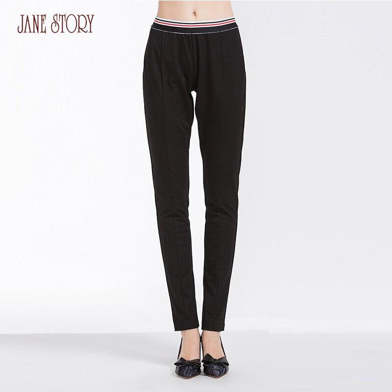 41369cf747b1a Jane-Histoire-2018-Femmes -Pantalon-Solide-Couleur-Droite-Pantalon-Long-Spliced-Taille-Bureau-Pantalon-Dame-Fahion.jpg