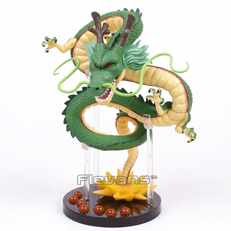 aeProduct.getSubject()  NEW HOT!!! Dragon Ball Z The Dragon Shenron + Mountain Stand + 7 Crystal Balls PVC Figures Collectible Mannequin Toys HTB1r5CLXRLN8KJjSZFpq6zZaVXaH