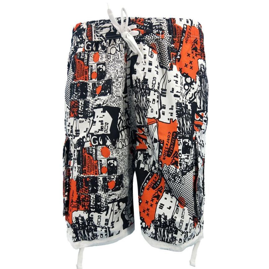 TS#504 Men 3D Printed Beach Work Casual Men Short Trouser Shorts Pants Free Shipping