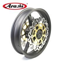 Arashi GSXR1000 2005-2008 Front Wheel Rim Brake Discs Rotors For SUZUKI GSX1000R GSX-R GSXR 1000 2005 2006 2007 2008 K6 K7 K8 все цены