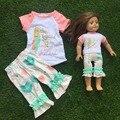 Niñas bebés trajes muñeca she could so she did she believed ropa américa ropa de la muñeca
