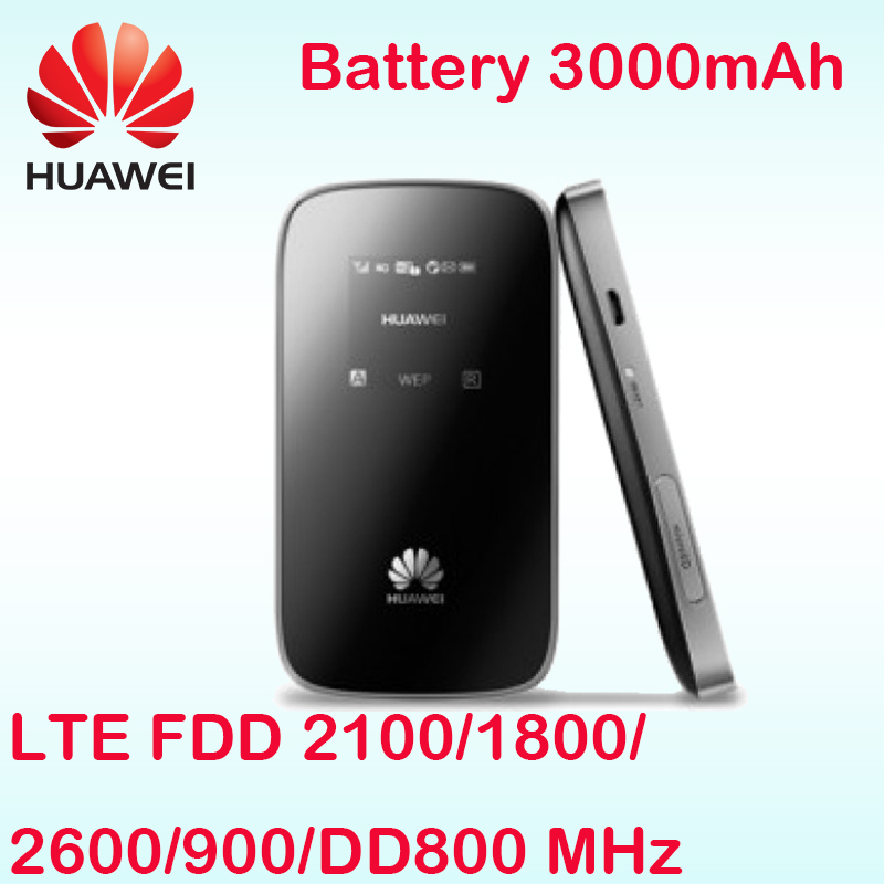 Unlocked Huawei E589 E589u-12 LTE 4g 3g wifi router 3g 4g router 4g wireless router 3g 4g pocket wifi pk e5220 e5375 e5878 e5786