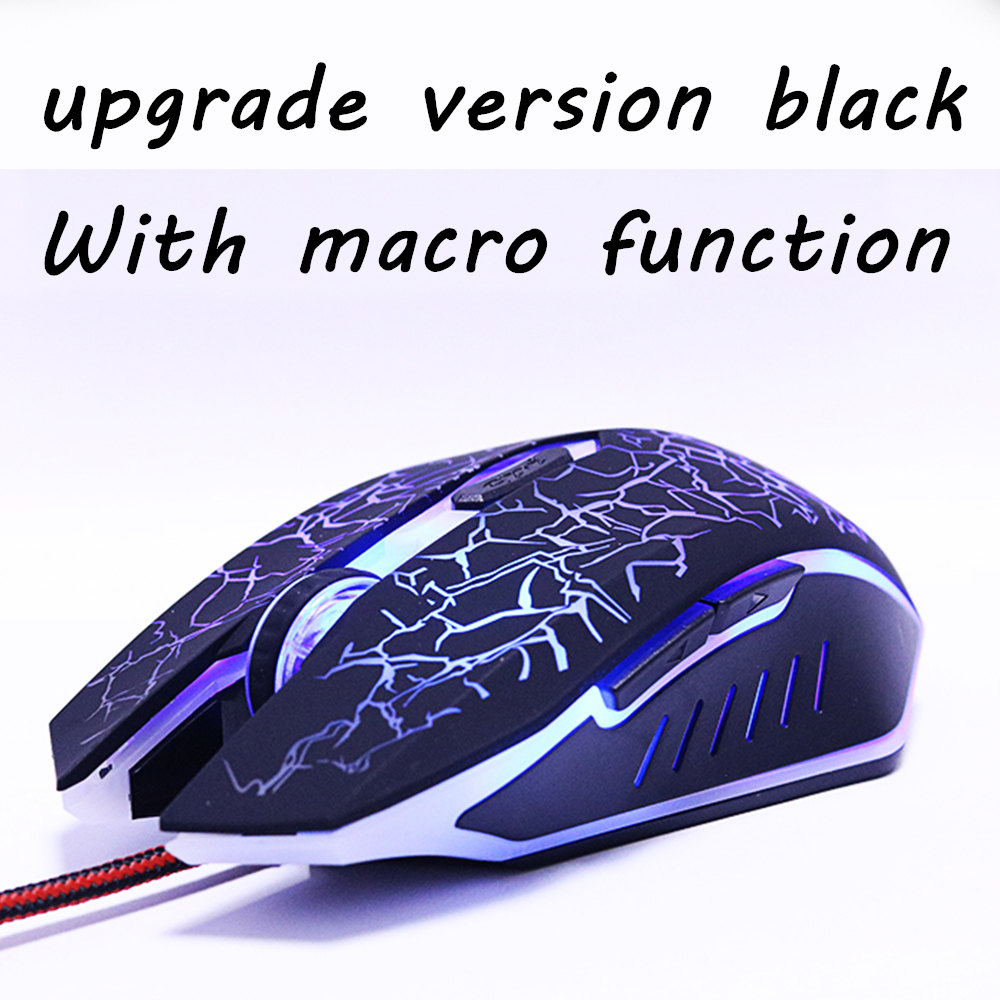 ZUOYA USB Optical Wired Gaming Mouse mice for Computer PC Laptop Pro Gamer Mouse