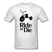 ФОТО tricycle ride or die men's t-shirt adult  shirt s-3xl printed t shirt men's short sleeve o-neck t-shirts summer stree twear