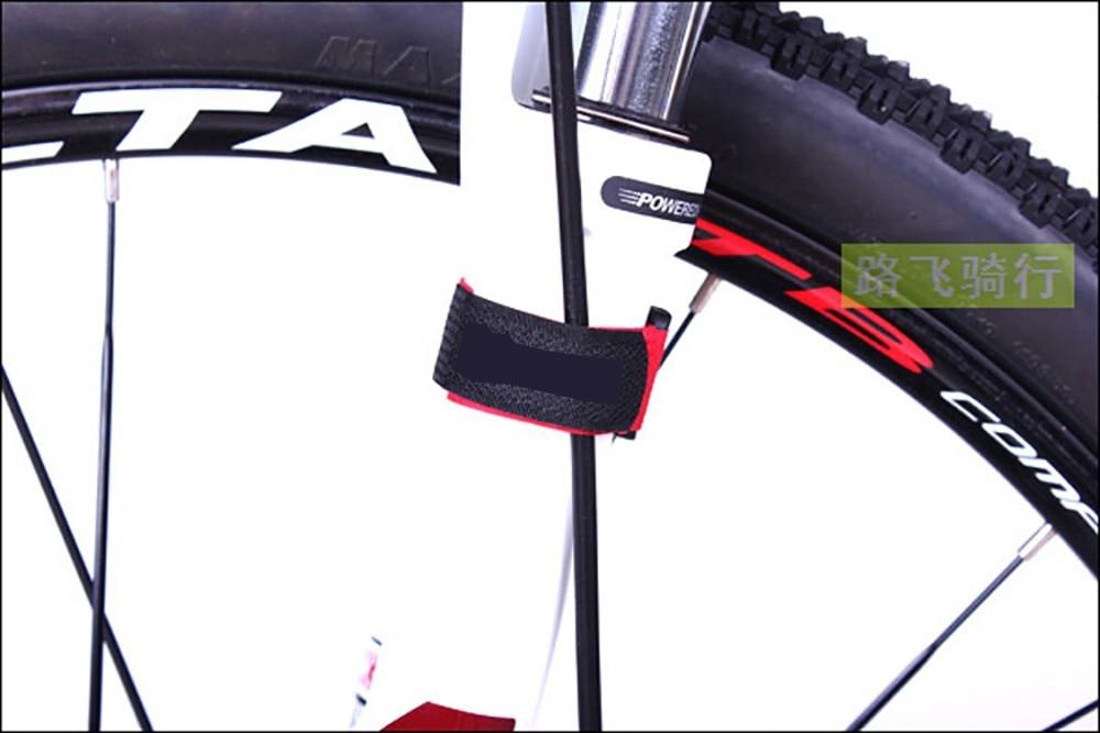 5 шт./лот впружина кабельная стяжка нейлоновый ремешок Провод питания Управление Волшебные Ленточные палочки держатель велосипедного насоса фиксированные стяжки