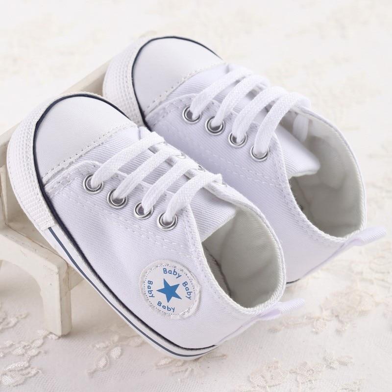 2017 New Canvas Sports Sneakers Newborn Baby Boys Girls ...