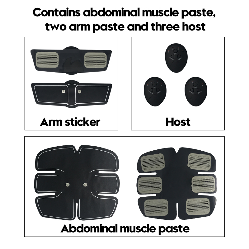 Abdominal Belly Leg Arm E-PERSONAL Muscle Trainer 3
