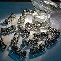 style Tibet silver Silver Dreadlock Beads 20Pcs Braid Hair Beads NEW Hair 7mm Hole Clip+Free Tibetan Silver Bead Big Hole Rings