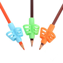 3Pcs/Set Children Pencil Holder Correction Hold Pen Writing Grip Posture Tool suits for righ and left hand Drop Shipping