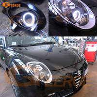 For Alfa Romeo Mito 2008 2009 2010 2012 2013 2014 2015 Excellent Angel Eyes Ultra Bright