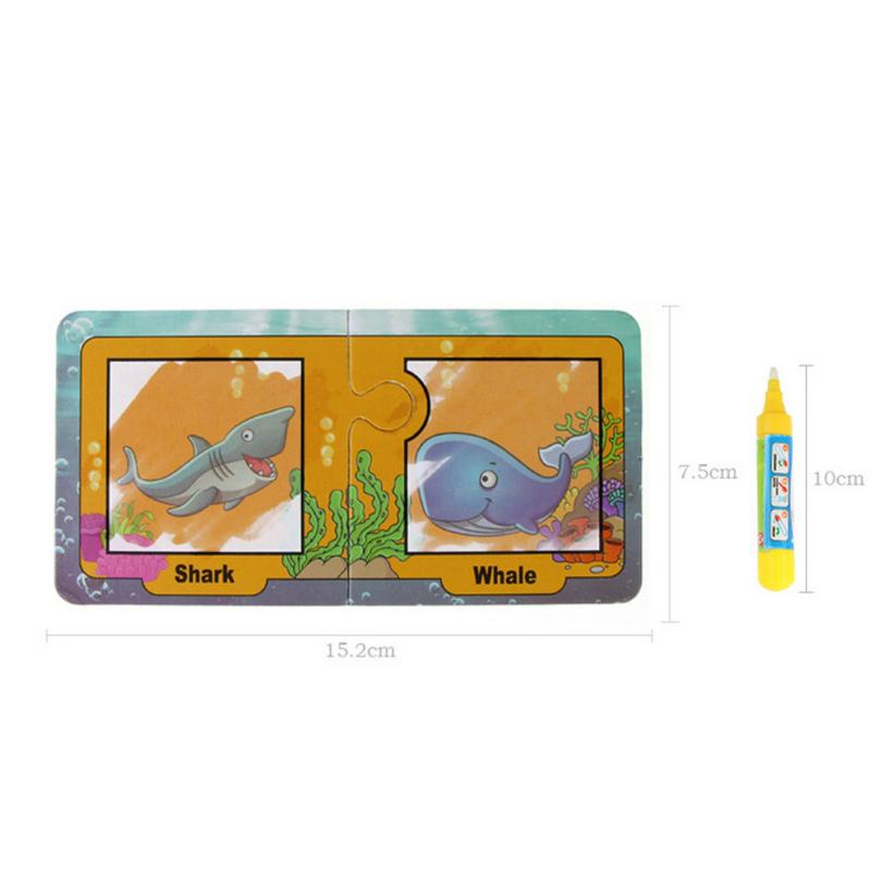 5-MB Child Children Boy Girl Kid Children Water Painting Board Magic Graffiti Education Color Painting Toys