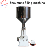 1pc Pneumatic Liquid Filling Machine Small Dose Stainless Steel Filling Machine Large Capacity Paste Filling Machine