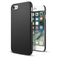 100 Original SGP Thin Fit Soft Finish Coating Ultra Slim Hard Cover Case For IPhone 7