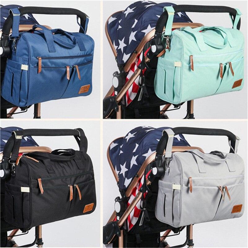 Large Fashion Mommy Messenger Bag Waterproof Travel Maternity Handbag Backpack For Mom/Dad Baby Stroller Bags