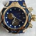 Reloj de pulsera de goma militar para Hombre con diseño de marca de lujo