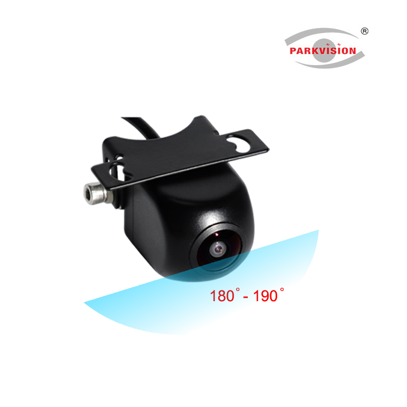 PARKVISION 180 190 Degrees Wide Angle Viewing Front Backup Reverse Rear View Vehicle Car Camera Multi view Image Parking Line