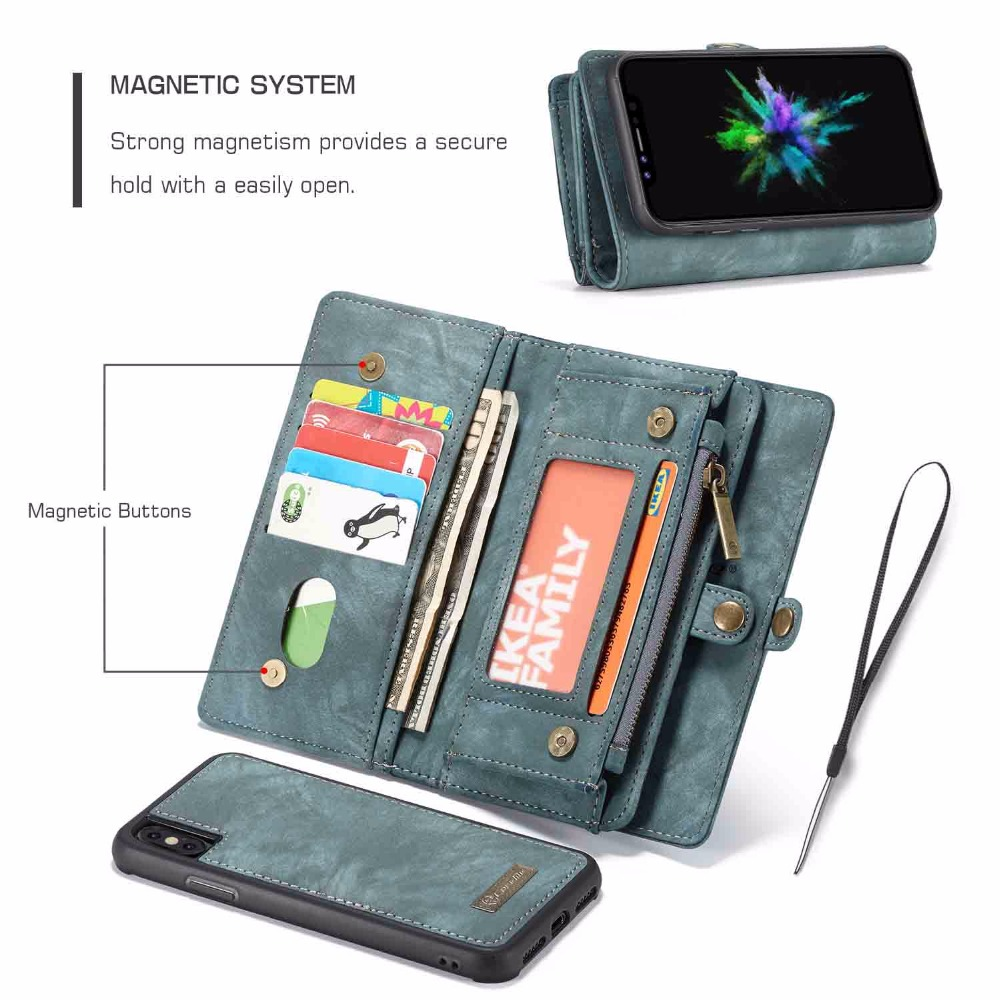 YMNLCX Wallet Case For Huawei P20 / P20 Pro Flip Detachable Leather Wallet On Cover Phone Case P30 Pro Zipper Wallet Stand BagYMNLCX Wallet Case For Huawei P20 / P20 Pro Flip Detachable Leather Wallet On Cover Phone Case P30 Pro Zipper Wallet Stand Bag