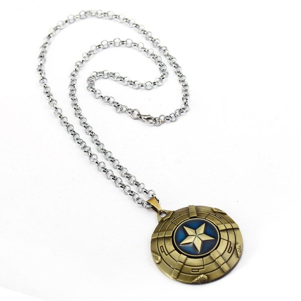 Captain America Shield Necklace 3