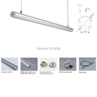 20 X 2M Sets/Lot Circular shape aluminum led channel and home design aluminum profile led kitchen light for suspending lamp