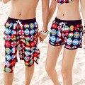 Новый быстросохнущие мода пляжные шорты для женщин и мужчин Купальники большой размер Boardshorts мужские свободные любителей Купальник 19-05