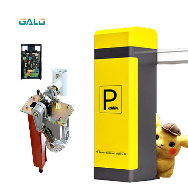 Moteur automatique de porte de barrière de Boom de route de stationnement de voiture de trafic le plus nouveau style facultatif et Support pour des ventes d'agence