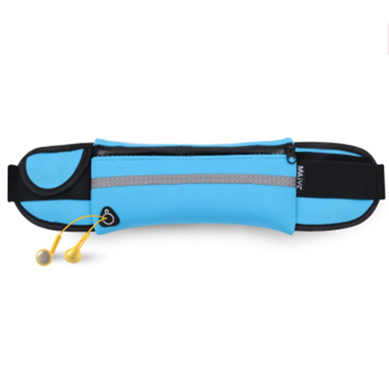 Outdoor Running Waist Bag Waterproof Anti-theft Mobile Phone Holder Invisible Kettle Belt Belly Bag Women Gym Fitness Bag TX01
