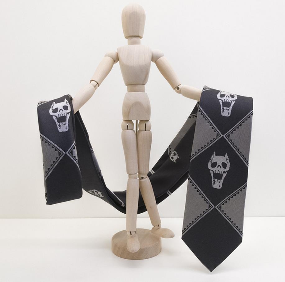 JoJo's Bizarre Adventure - Yoshikage Kira Skull Tie