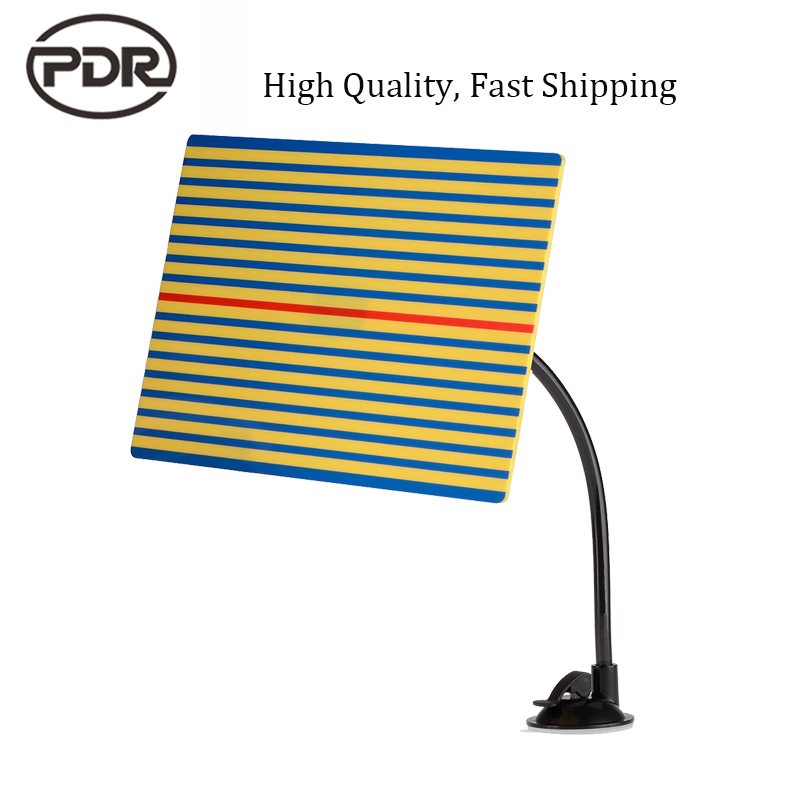 PDR Tools Reflector Board Yellow Line Board Dent Scratch Doctor For Paintless Dent Repair Tools Hail Damage Repair Removal Kit