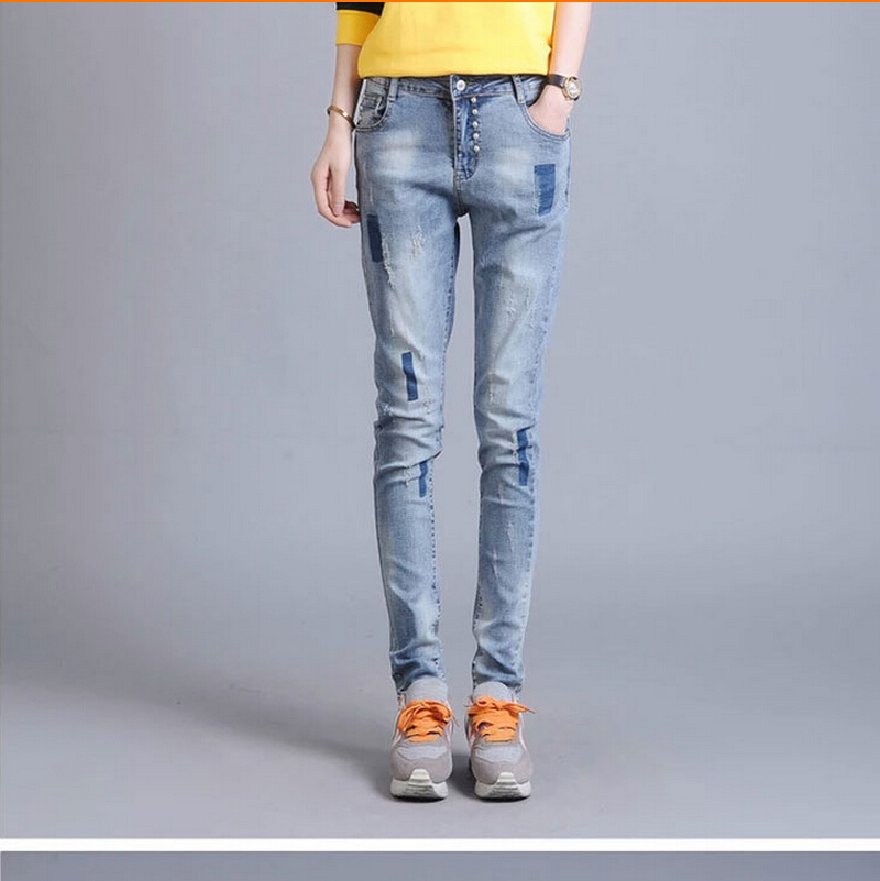 Factory Direct Sale!Ms Womens Fall Fashion Fashion High-Grade Pure Cotton And Comfortable Skinny Jeans Woman Lady Brand Of Jeans a low cost factory direct high grade high cycle life lithium polymer battery 801745