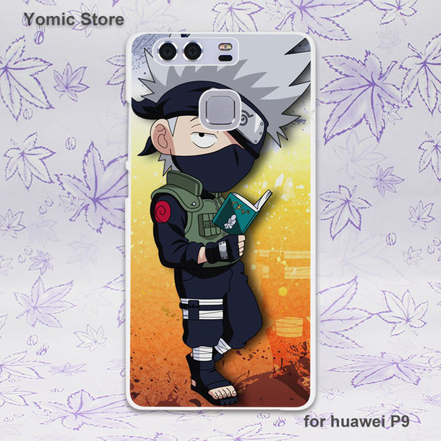 Naruto vs Sasuke White Case Cover for Huawei