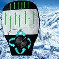 Coche Amortiguador Del Coche de Verano Transpirable Cojín Del Asiento de Coche Motor Del Ventilador Del Ventilador 12 V de Energía de Enfriamiento de Ventilación de Verano Fresco Cojín Del Asiento