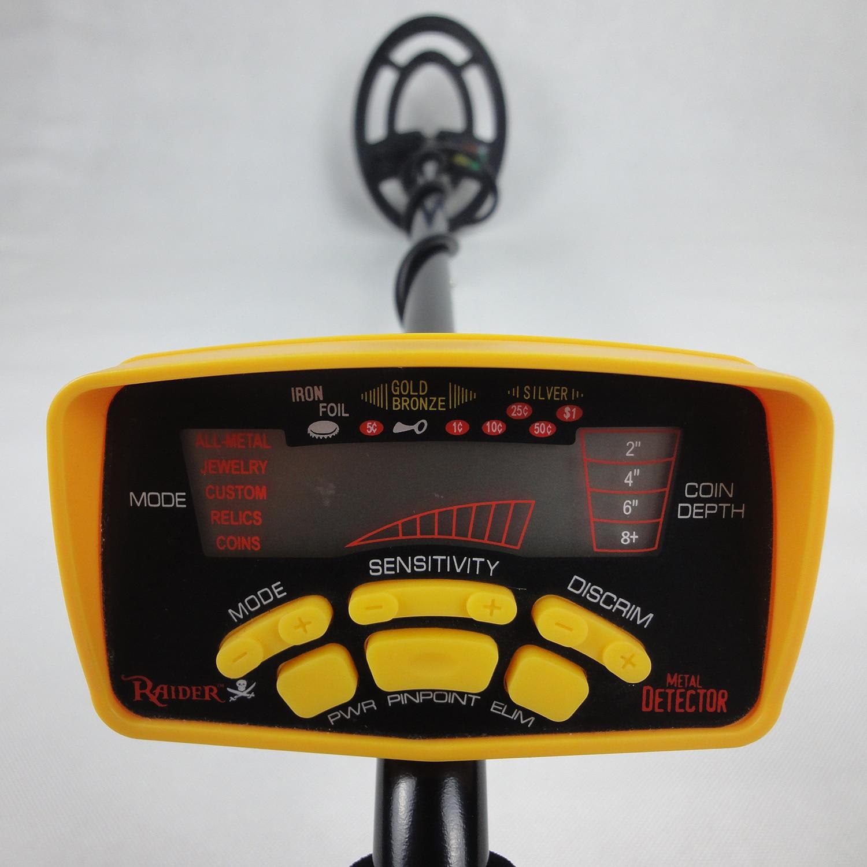 MD6250 Underground Treasure Hunter Underground Gold Detector Practical Metal Treasure