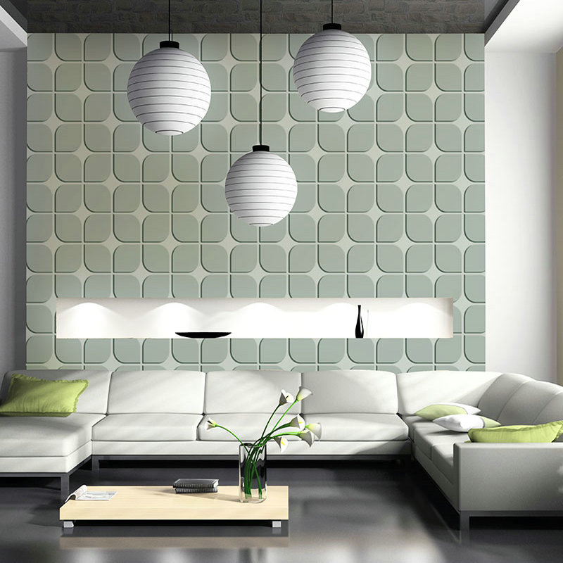 Vinyl 3d wallpaper walls moisture proof mould proof for Vinyl wallpaper for walls