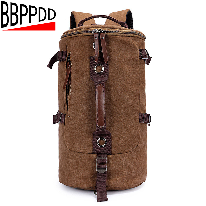New Vintage Backpack Canvas Backpack Leisure School Bags Unisex Big Size Men Travel Bags Luggage Backpacks Men Travel bag vintage canvas backpack fashion canvas rucksack daypack leisure college bag travel school bags unisex computer bag backpacks