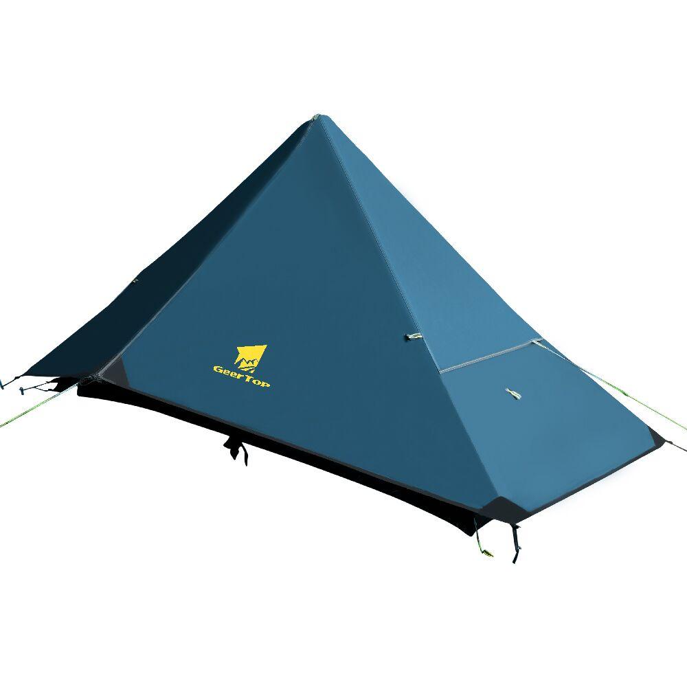 GeerTop 1 Person 4 Season Ultralight Backpacking Tent ...
