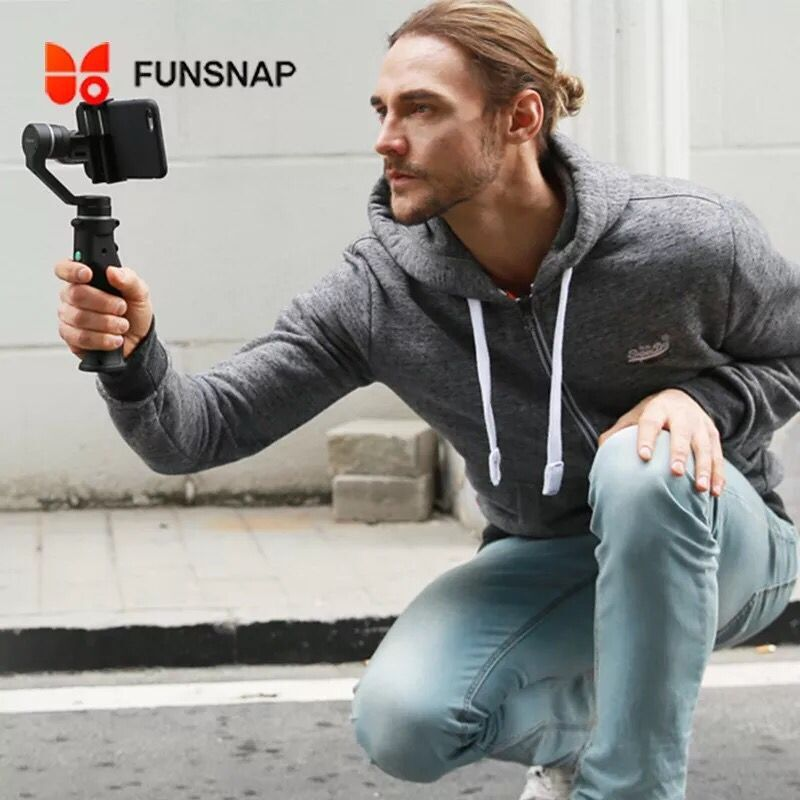 Funsnap Capture 3 Axis Handheld Gimbal Stabilizer For Smartphone GoPro SJcam Xiao Yi Camera цена