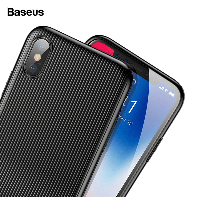another chance 6202d 225e3 US $14.69 30% OFF|Baseus Audio Case For iPhone X 10 Capinhas PC & TPU Data  Sync Fast Charge Music Call Aux Adapter Splitters For iPhoneX Case Capa-in  ...
