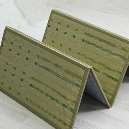 TM07 Japanese Tatami Mat Folding Floor Mat Straw Rectangle 82*180cm Asian  Traditional Design Zen Mattress Sleeping Rug Panel