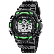 2016 de La Moda de Los Hombres Casual Sport Reloj de Pulsera Digital LED Relojes de Hombre Reloj militar A Prueba de agua regalo Relogio masculino