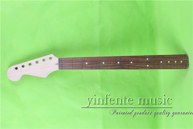 25.5 left Electric guitar neck maple made Bolt on rosewood wood fingerboard fine quality 22 fret 0036# left hand electric bass guitar neck 21 fret 34 inch maple wood rosewood fretboard 719
