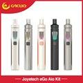 Original Joyetech Ego kit AIO Tudo-em-um 2 ml 1500 mah Capacidade da bateria Estrutura Anti-vazamento Starter kit cigarro eletrônico