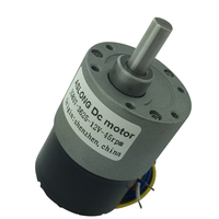 JGB37 3625 24V brushless DC motor brushless gear motor speed control positive and negative 7RPM 960RPM LF1