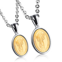 Child Jesus Design Pendants Necklaces For Lovers High Quality Divino Ni O Stainless Steel Religious Women