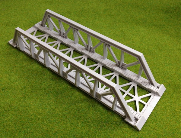 US $21 99 |QL003 Model Train Railway Truss Girder Bridge Accessories for  TOMY Thomas 1:87 HO OO Scale NEW-in Model Building Kits from Toys & Hobbies