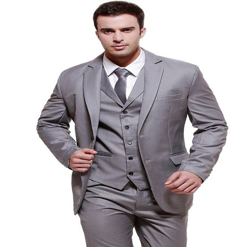 wholesale dealer 0b2a9 e46ec US $55.79 37% OFF|Herren Moderne Fit 3 Stück Anzug Blazer Jacke Tux Weste &  Hosen anzüge herren männer anzüge für hochzeit-in Anzüge aus ...