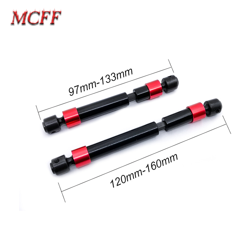 2PCS TRX4 Metal CVD Drive Shaft for 1/10 RC Rock Crawler 324MM Wheelbase fits Traxxas  Trx 4 RC Car-in Parts & Accessories from Toys & Hobbies