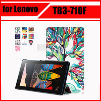 Magnetic Stand Pu Leather Case For Lenovo Tab 3 Tab3 7 Essential 710 710I 710F TB3