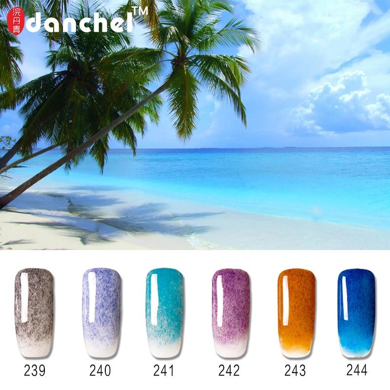 Danchel UV Gel esmalte de uñas de larga duración Faux Fur Nail Gel esmalte de gel Laca Nail Art Design Barnices Gelpolish Vernis Shilak