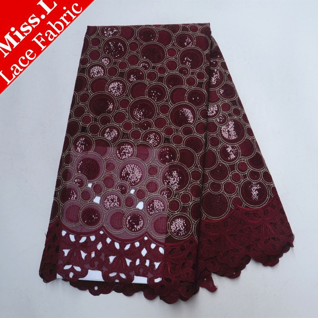 African lace fabric 2018 high quality lace dress Swiss Voile Lace In Switzerland Cotton african lace dresses for women dress