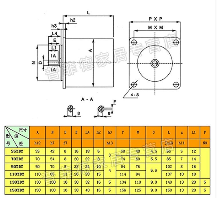 HTB1r5LBeOAnBKNjSZFvq6yTKXXar - 16W Permanent Magnet Low Speed Synchronous Motor, AC 220V AC Motor, 55TDY4/55TDY115 60RPM/115RPM, Torque 0.3N.M